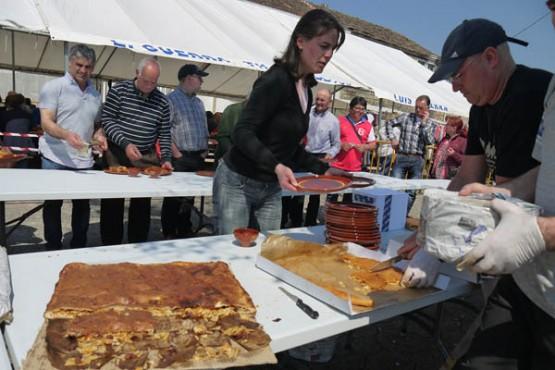 Festa da Empanada en Val do Dubra