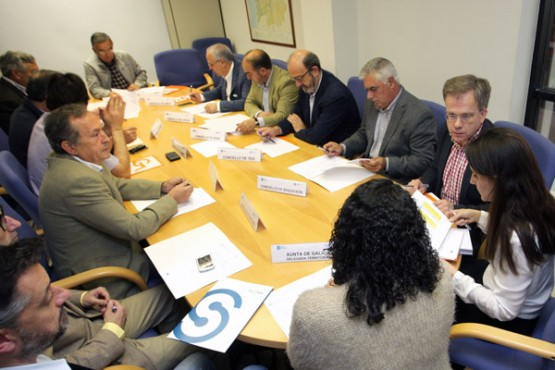 Comisión de seguimento do Plan de Transporte Metropolitano. Foto: C. Paz