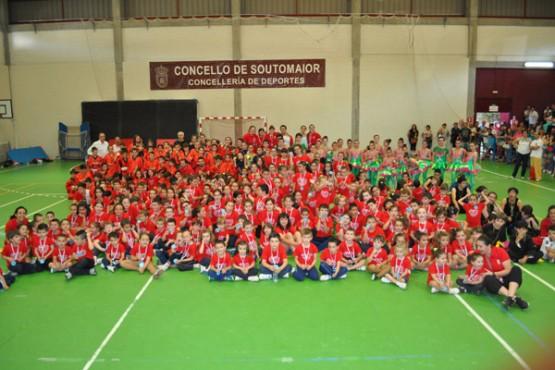 Clausura das escolas deportivas