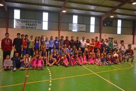 Festa das escolas deportivas Frades