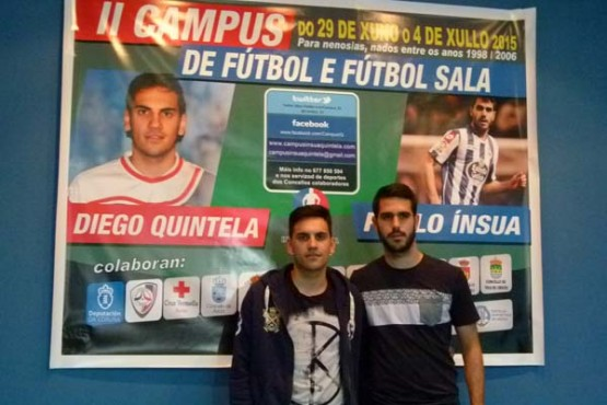 Presentación do campus de fútbol