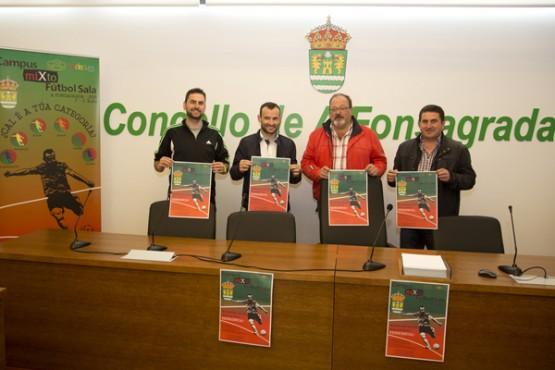 Presentación do campus de fútbol sala na Fonsagrada