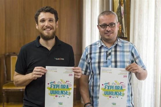 """Presentación """"Explora Ourense"""""""