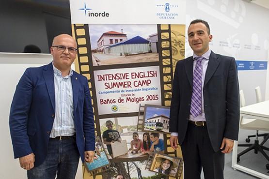 Baltar na presentación de Orient Express in Ourense