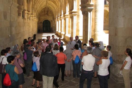 Visita dos membros da congregación