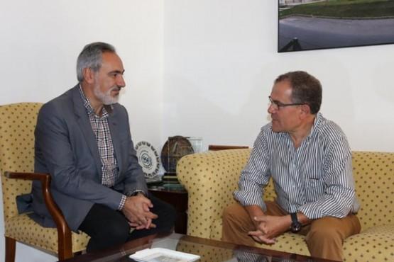 Cores Tourís na reuni´n co alcalde de Portas