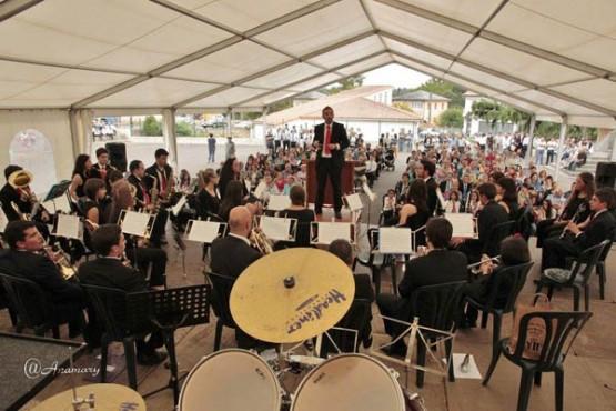 Festival de bandas. Foto: Anamary