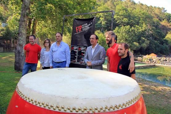 Presentación do Festival Internacional de Percusión