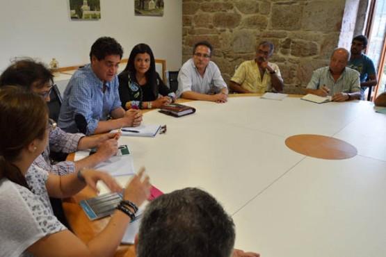 Reunión dos representantes das Comunidades de Montes