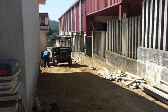 Obras no CPI Ponte Carreira