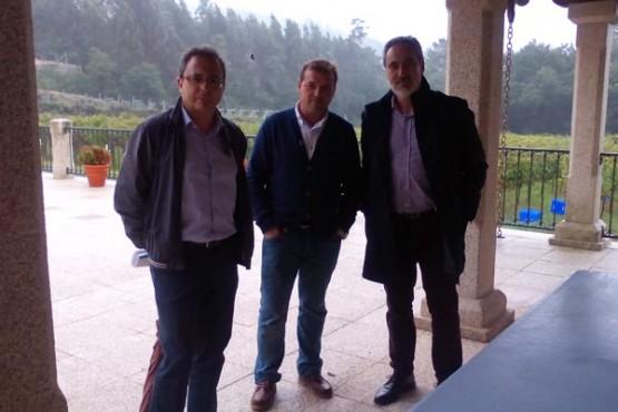 Cores Tourís na visita á adega Lagar da Condesa