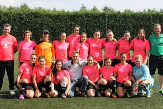 Equipo feminino SD Touro
