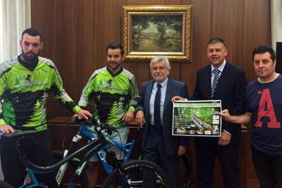 """Presentación da """"Parroira-Bike"""""""