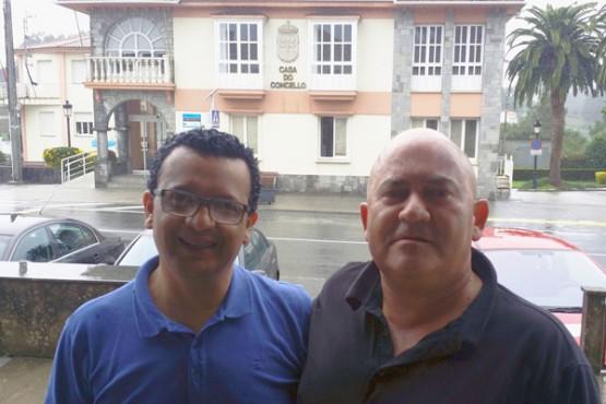 Visita do profesor costarricense