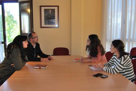 Reunión dos representantes municipais dos dous Concellos