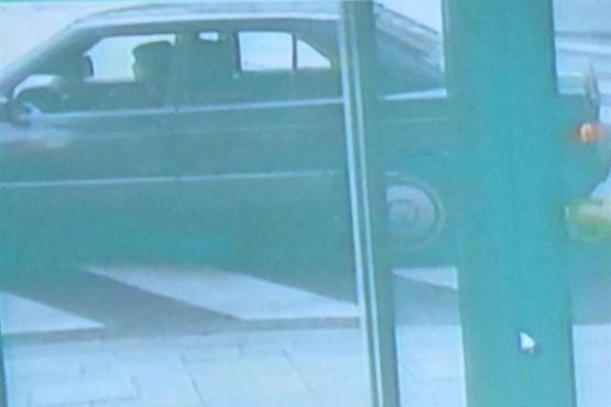 Unha das imaxes das cámaras de seguridade