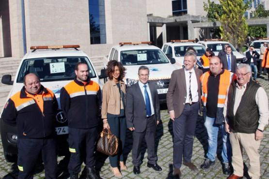 Entrega de vehículos para Protección Civil