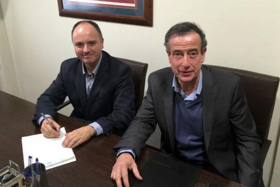 David Regades e Santiago Ojea
