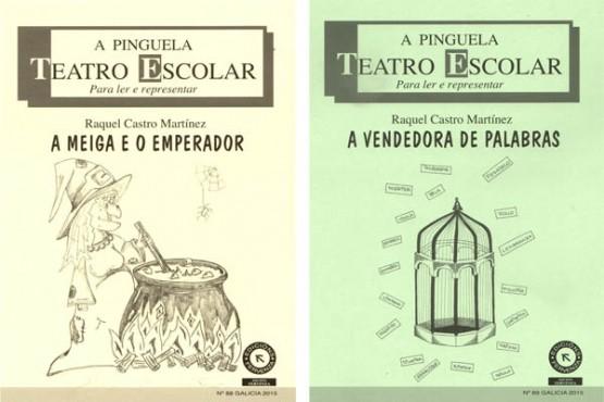 Os dous últimos títulos de Raquel Castro que se presentan en Salvaterra