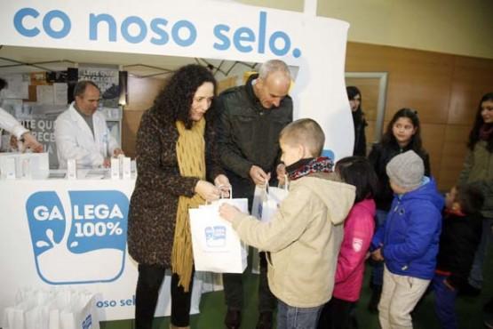 Promoción do selo leite Galega 100%