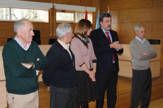 Alfonso Marnotes na clausura do obradoiro