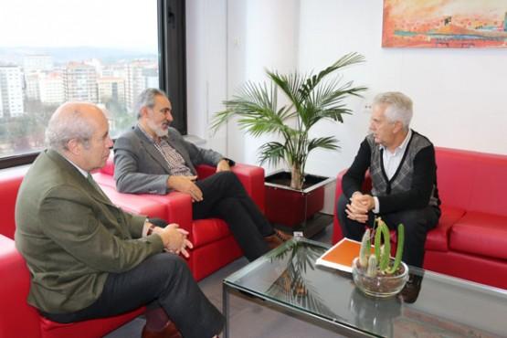 Reunión do alcalde de Poio con Cores Tourís