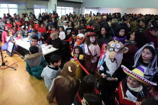 Concurso de disfraces en Salvaterra