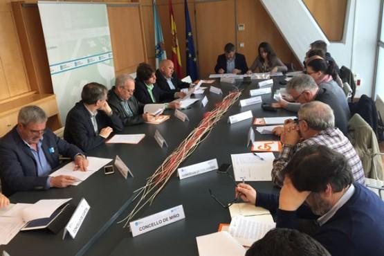 Reunión da Comisión de Seguimento do Transporte Metropolitano da Coruña