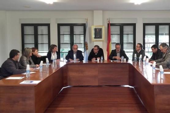 Cores Tourís na reunión coa mancomunidade Ulla-Umia-Lérez