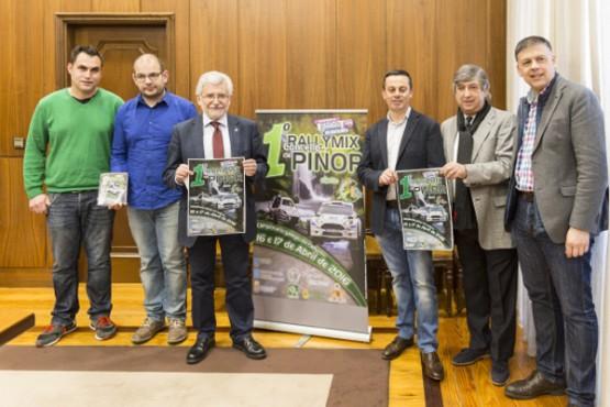 Presentación do Rallymix Concello de Piñor