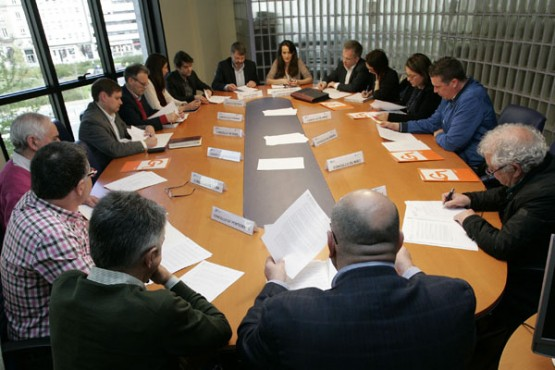 Reunión da Comisión de Seguimento de Transporte Metropolitano de Ferrol