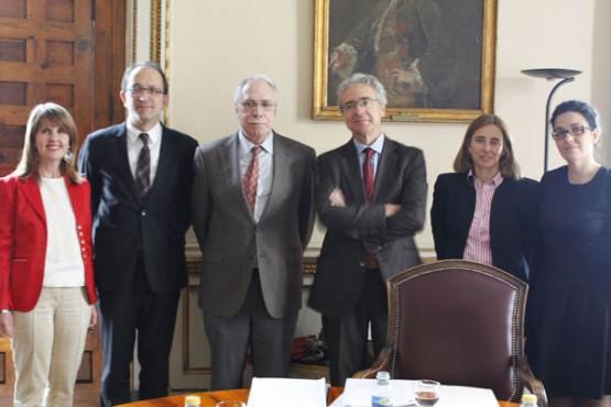 Anxo Lorenzo na reunión da comisión