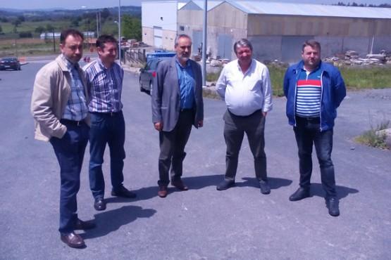 Cores Tourís na visita ao polígono de Merlín