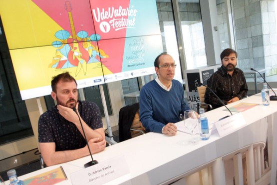 Presentación do Festival de VdeValares. Foto: C. Paz