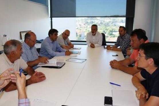 Cores Tourís na reunión coa Federación Galega de Caza