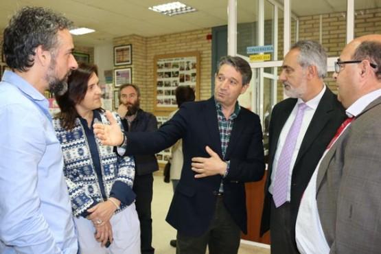 Cores Tourís na visita ao CPI de Mosteiro en Meis