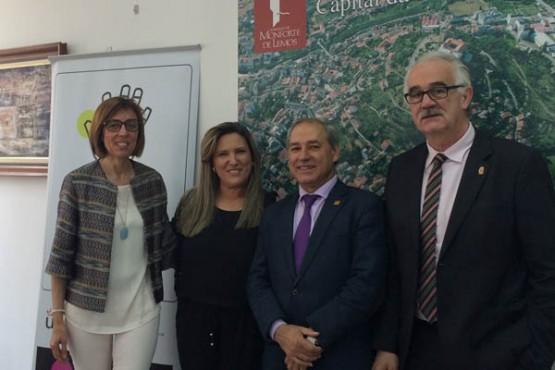 Raquel Arias na presentación da Convención da Rede de Cidades e Territorios Creativos de España