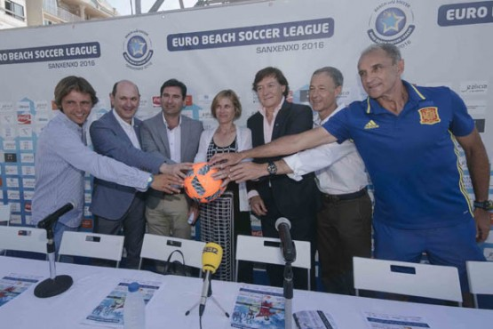 Presentación da Euro Beach Soccer League