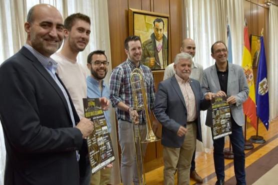 Presentación do Festival Hércules Brass de Celanova