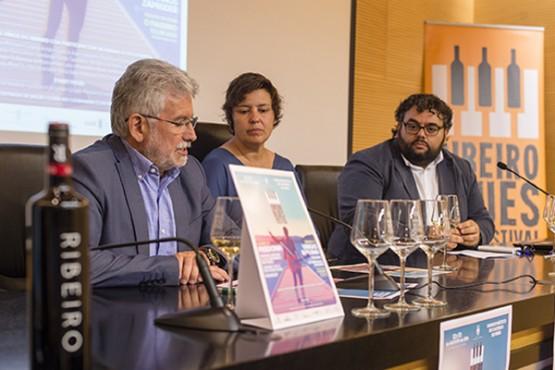 Presentación do III Ribeiro Blues Winefestival