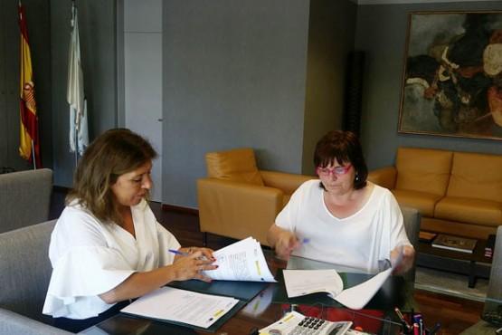 Sinatura do convenio entre a Consellería de Medio Ambiente e o Concello de Lousame