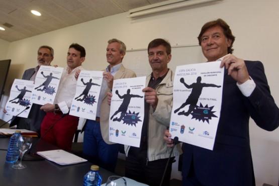 Presentación da Copa Galicia de Balonmán