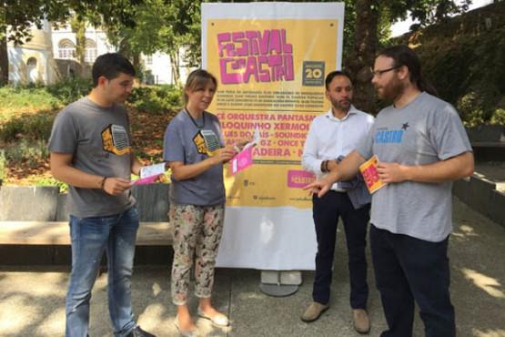 Presentación do Festival do Castro