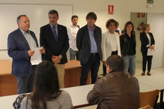 Marnotes no encontro cos alumnos participantes no programa