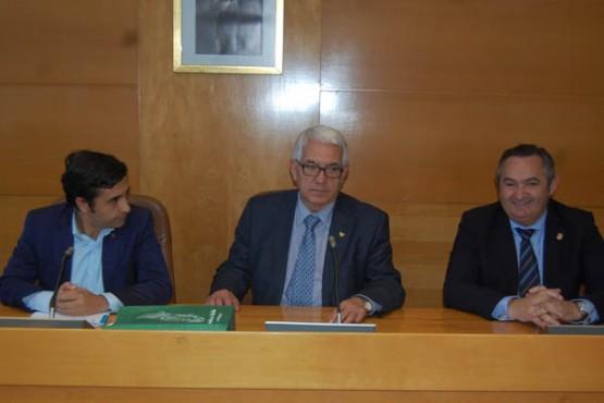 Rey Varela na reunión co alcalde de Vilalba