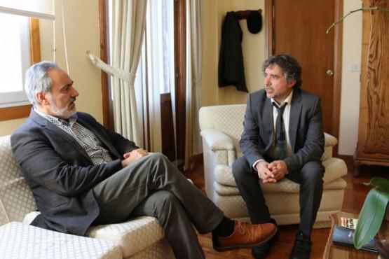 Cores Tourís na reunión co alcalde das Neves