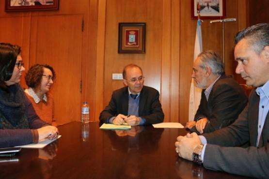 Cores Tourís na reunión co alcalde de Ponteareas