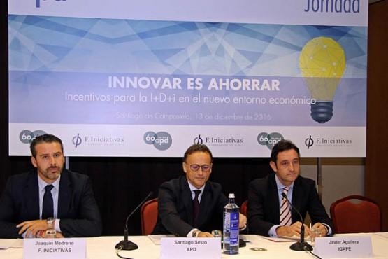 Javier Aguilera na xornada técnica Innovar e aforrar.