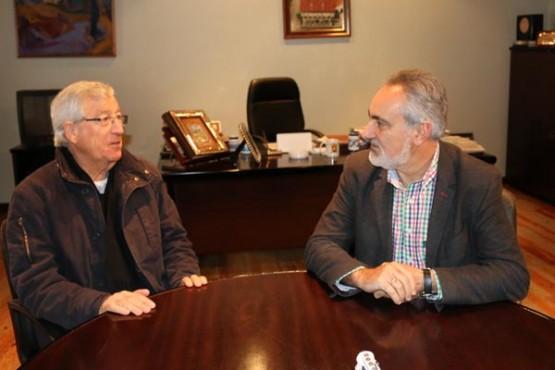 Reunión de Cores Tourís co alcalde de Mondariz Balneario