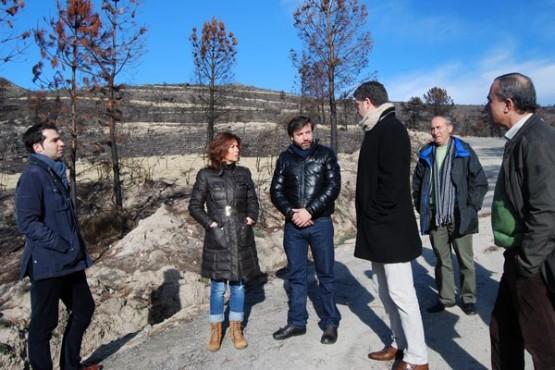 Marisol Díaz visitou Cualedro e Oímbra